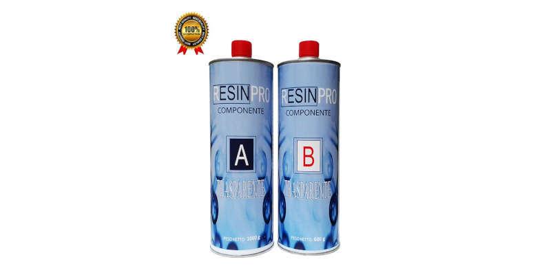 Resina epoxi transparente Resin Pro 2 k