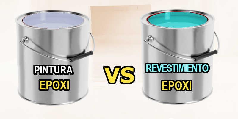 Comparación entre pintura epoxi y revestimiento