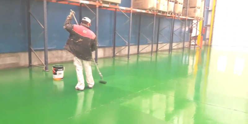 Pintar el suelo de una nave con pintura epoxi barato baratos precio precios barata baratas