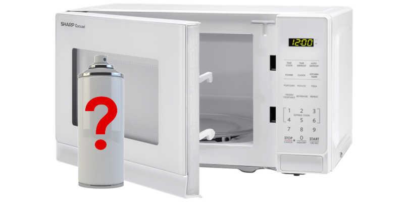 Pintura para horno microondas