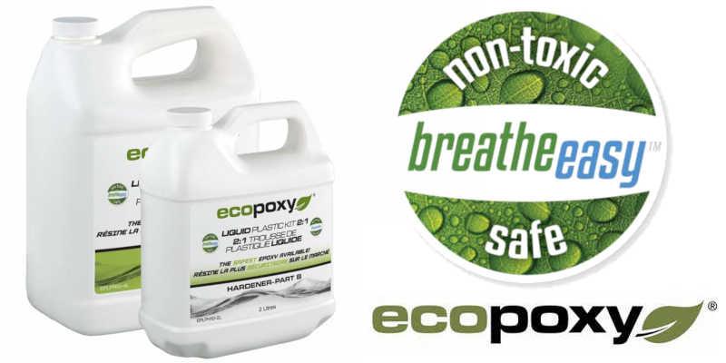 Resina epoxi Ecopoxy ecológica