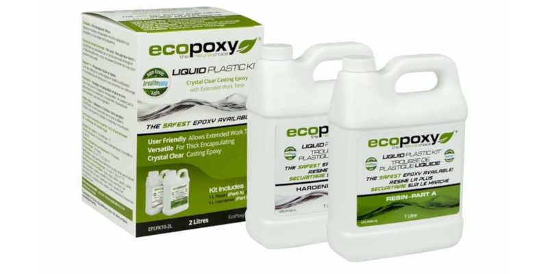 Resina epoxi ecológica Ecopoxy de 2 litros barata baratas barato baratos precio precios comprar oferta ofertas epoxy porcelanato cristal líquido epoxidica