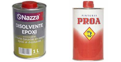 Disolventes de resina epoxi