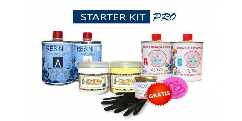 Kit de resina epoxi Resin Pro