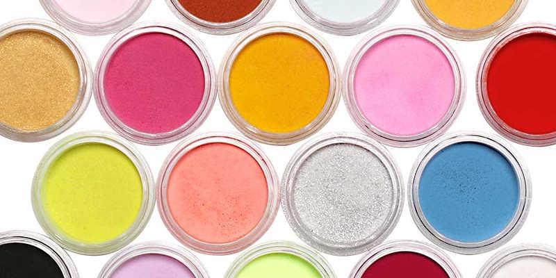 Pigmentos en povo para resina epoxi