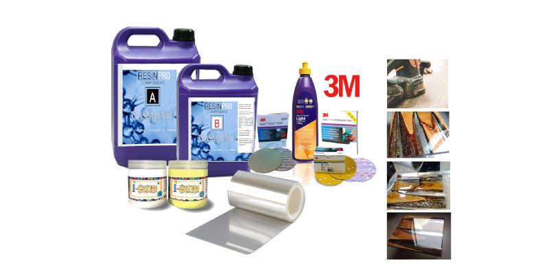Kit de iniciación de resina epoxi para mesa de madera Resin Pro barato baratos barata baratas comprar precio precios
