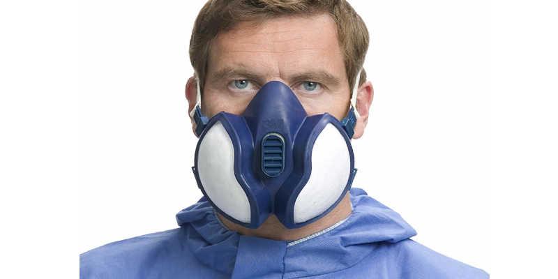 Mascara de seguridad 3m