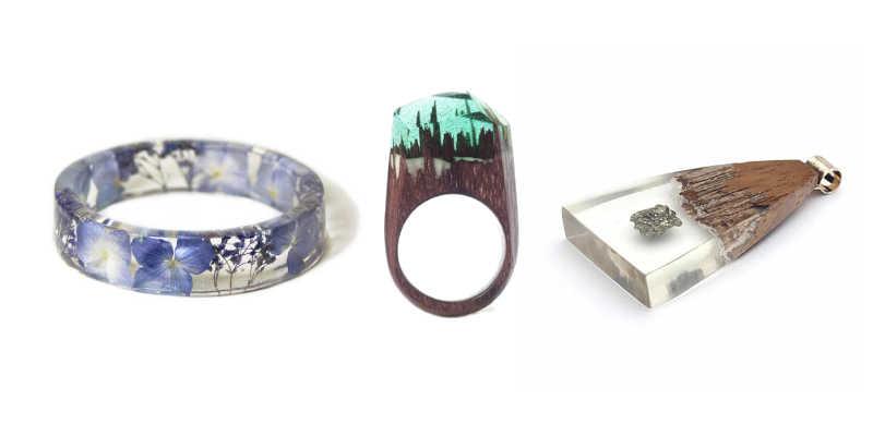 Elegir resina epoxi para joyería y bisutería