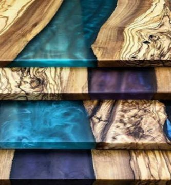 Resina epoxy, epóxica, epoxi para madera