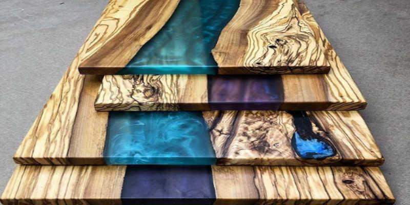 C mo aplicar resina epoxi para madera - Pintura acrilica para muebles ...