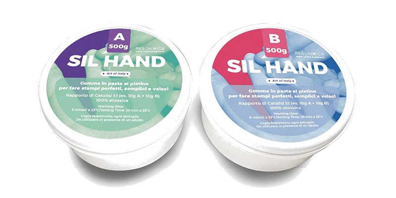Pasta de silicona para Moldesl Sil Hand de Reschimia