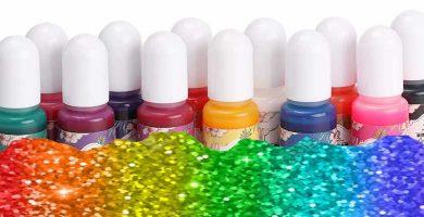 Resina UV de colores