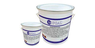 Porcelanato líquido epoxi blanco Sopgal de 20kg