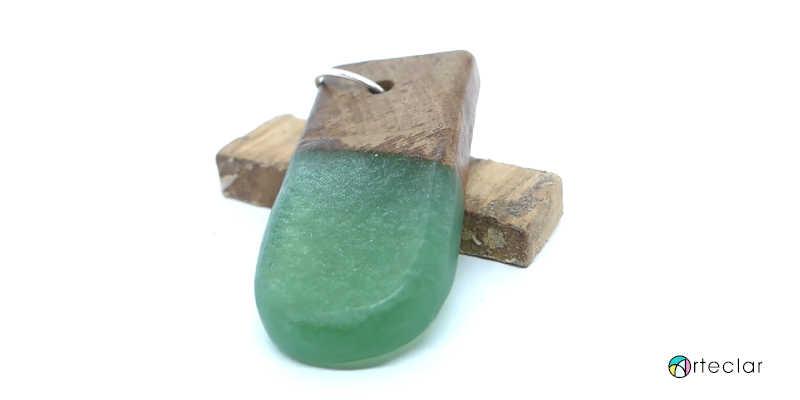 Joyería y bisutería con madera y resina epoxi epóxica cristal líquido vidrio porcelanato epoxy