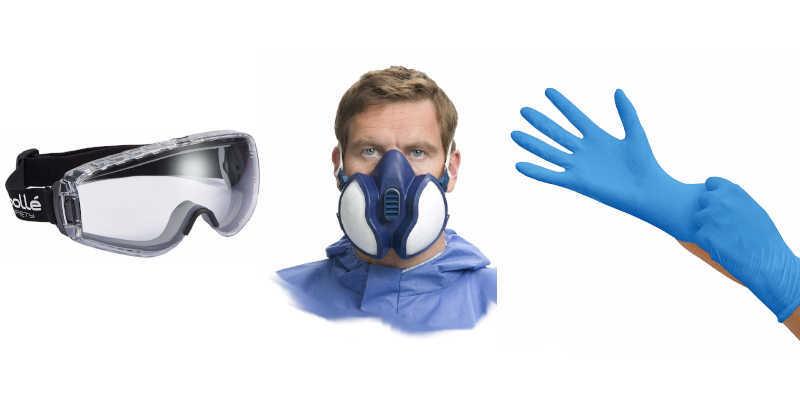 Medidas de seguridad con la resina epoxi