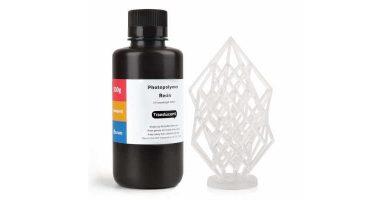 Resina para impresoras 3D UV translúcida LCD 405 Nm
