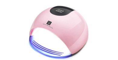 Lámpara LED Uñas Halovie 80W para resina uv barata baratas precio precios comprar