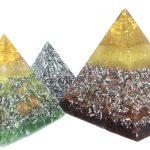 Pirámides de orgonitas u orgonites en imágenes
