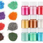 Pigmento de polvo de mica metalizado para resina epoxi nacarado perlado resina epoxi epóxica cristal líquido porcelanato gemelos barata baratas barato baratos precio precios comprar oferta ofertas rebaja rebajas