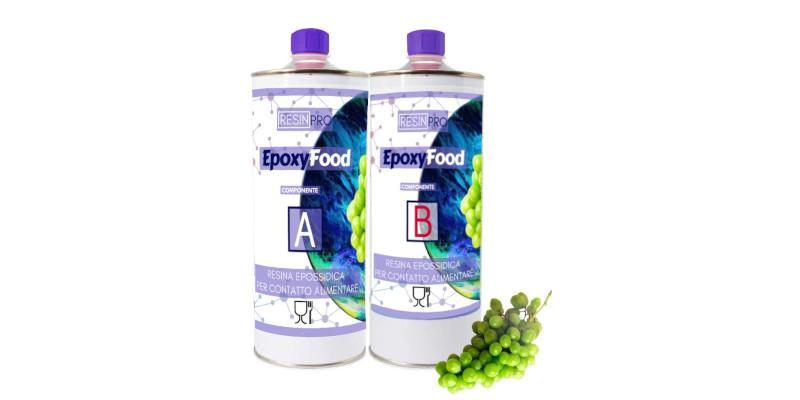 Resina epoxi alimentaria para contacto con alimentos Resin Pro cristal líquido porcelanato revestimiento pintura gemelos barata baratas precio precios barato baratos rebaja rebajas oferta ofertas