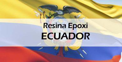Resina epoxi epóxica epoxy porcelanato Ecuador